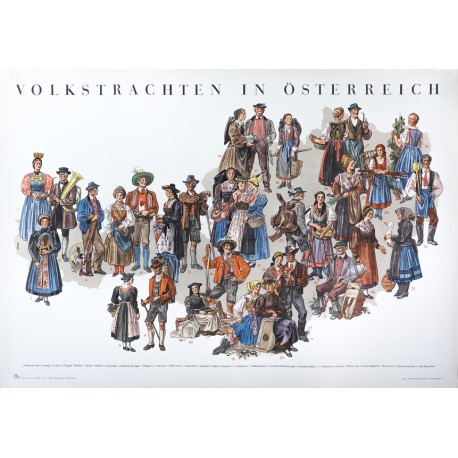 Volkstrachten in Österreich