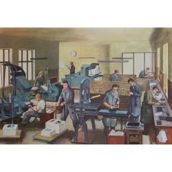 Buchdrucker und Setzer